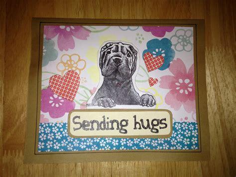 Handmade Hugs - handmade sending hugs card z designs
