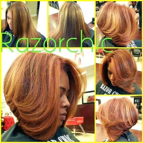 alanta bob razor chic atlanta mane attraction pinterest bobs