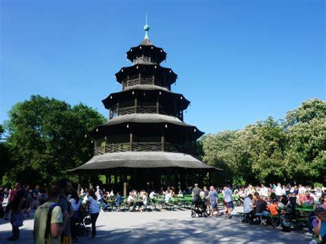 Chinesischer Turm Englischer Garten by Munich Gardens Chinesischer Turm