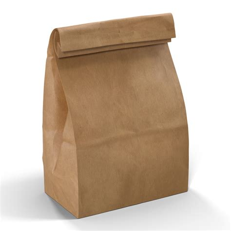 How To Make A Paper Lunch Bag - brown paper lunch bag stock image pixelsquid