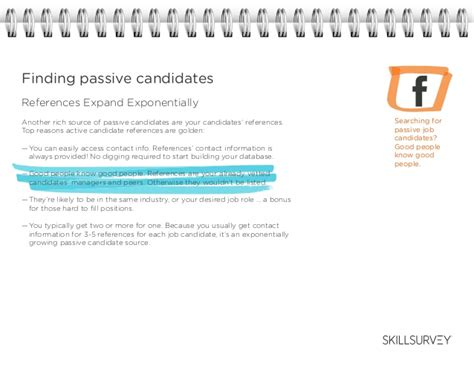Passive Candidate Engagement A Playbook Passive Candidate Email Template