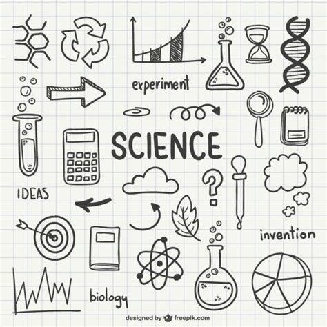 the practice and science of drawing books science icons vector free