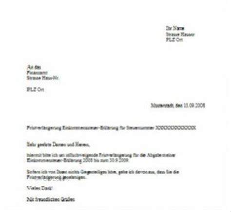 briefvorlage zur fristverlaengerung beim finanzamt