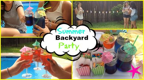 backyard party outfits summer backyard party diy treats outfits and