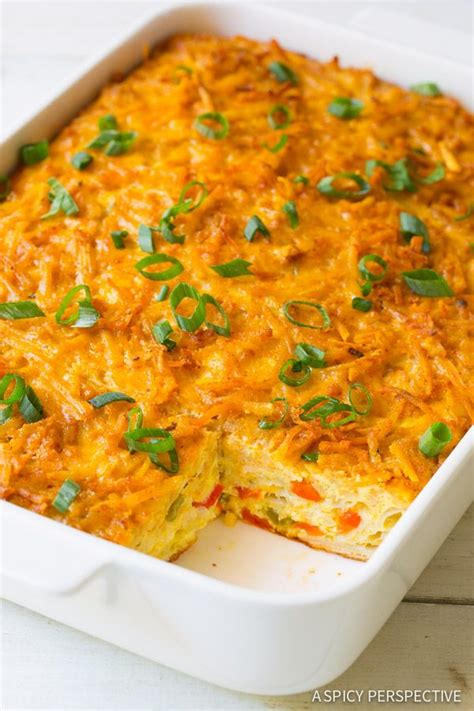 Nature Bridge Small Food mexican breakfast casserole with hash brown top recipe