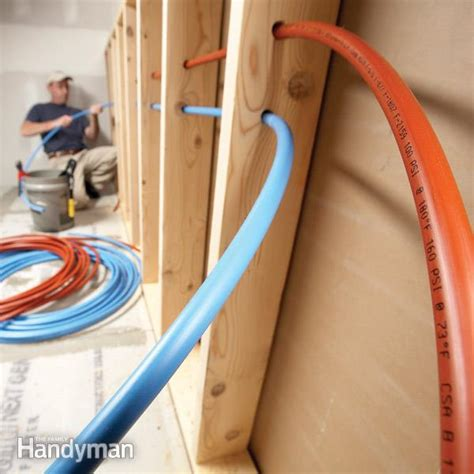 How To Plumb With Pex Tubing by What Is Pex Plus Tips For Using Pex The Family Handyman