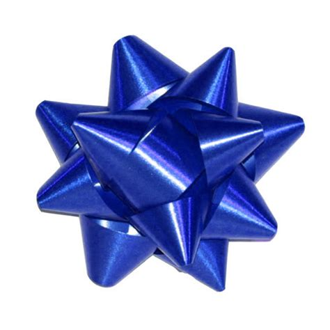 100 x mini stick on metallic bow blue giftbagshop co uk