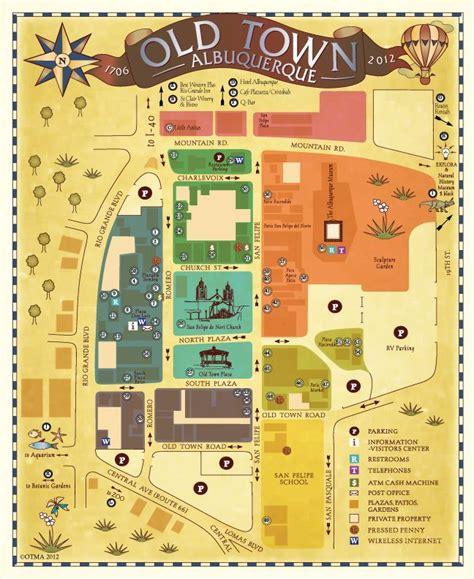 albuquerque map usa best 25 albuquerque town ideas on new