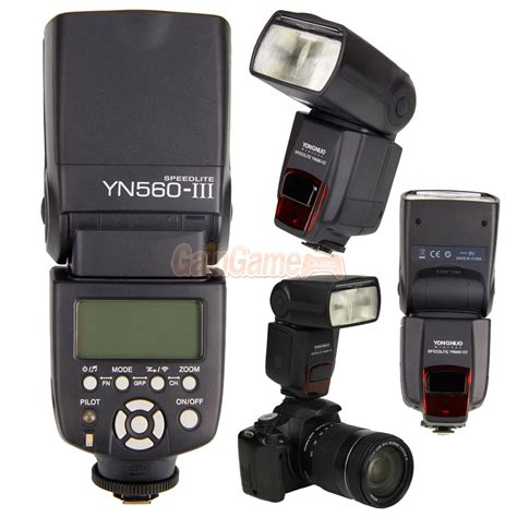 Flash Kamera Nikon D5100 yongnuo yn 560iii flash speedlite for nikon d5200 d5100