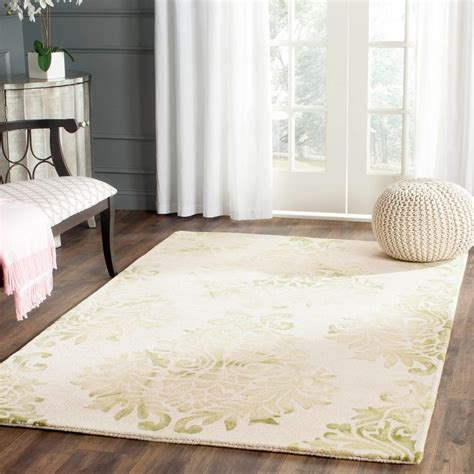 beige green safavieh dip dye beige green 4 ft x 6 ft area rug