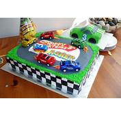 Hot Wheels Cake  Themed With Individual
