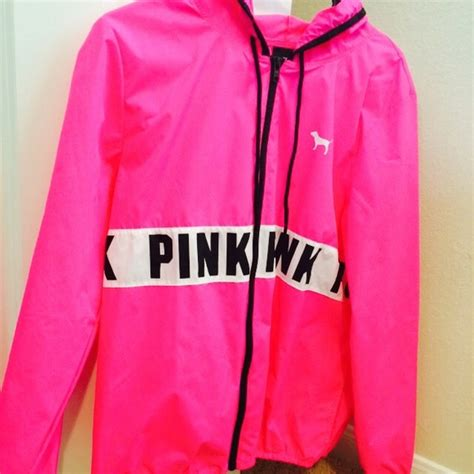 Jaket Adidas Navy Pink By Snf2012 pink s secret sold on pink nwot anorak jacket