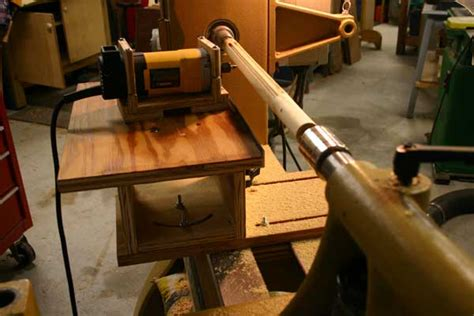 router lathe diy woodworking talk woodworkers forum