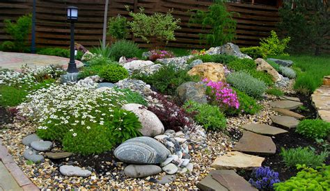 The alpinarium (rock garden) in landscape design     Ideas