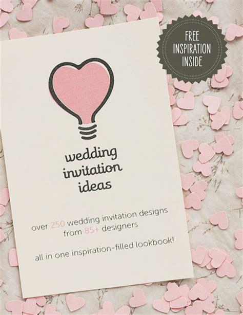 wedding invitations ideas the wedding invitation ideas lookbook invitation crush