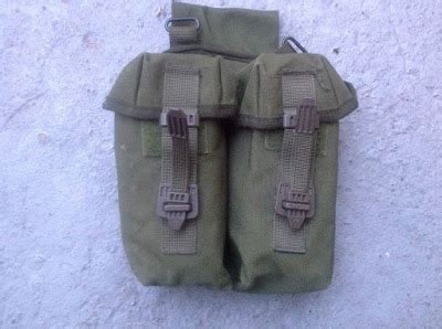 webbingbabel: uksf plce low riding ar15 / slr mag pouch