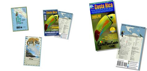 waterproof travel map of costa rica books the story of costa rica guide