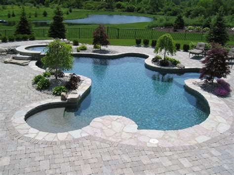 in ground pool ideas inground pool design and installation 171 stone patios