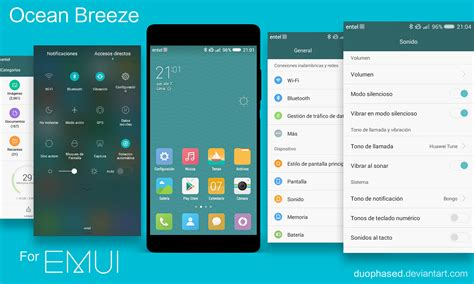 themes miui 7 download ocean breeze miui 7 theme for emui 3 0 3 1 4 0 by