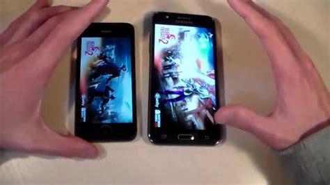Samsung J5 Vs Iphone 5 Samsung Galaxy J5 Vs Iphone 5