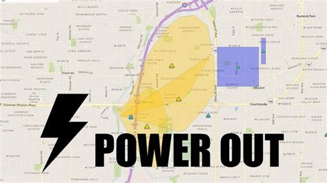 kcpl outage map power outage affects thousands of kcp l customers in