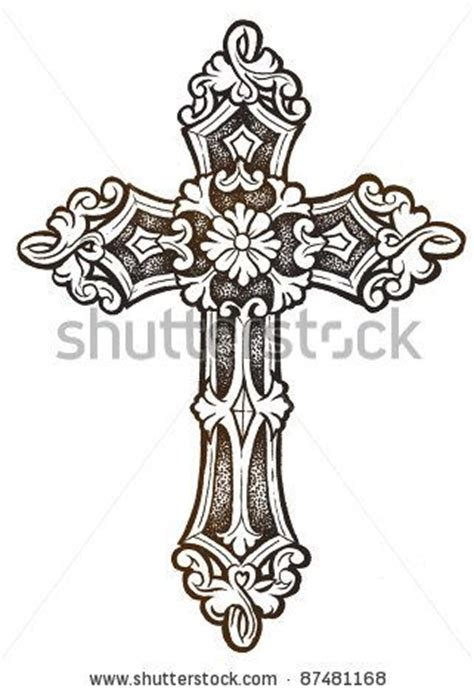 catholic cross tattoo designs 25 best ideas about cross designs on