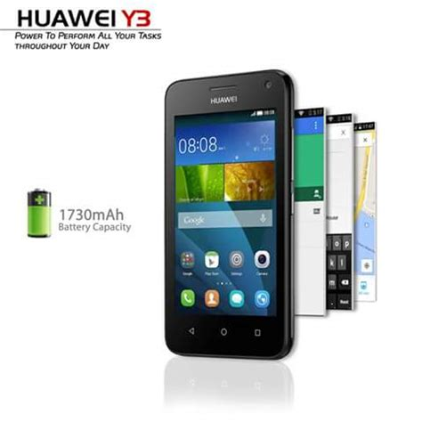 huawei smartphone y3  most affordable dual flash phone for