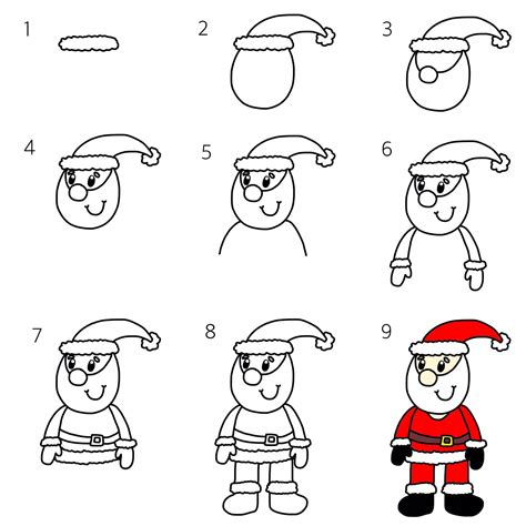christmas pictures step by step how to draw a and competition coombs