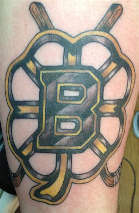 black and gold tattoo bruins black and gold tattoos by danny clark