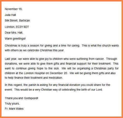 sample church donation letter