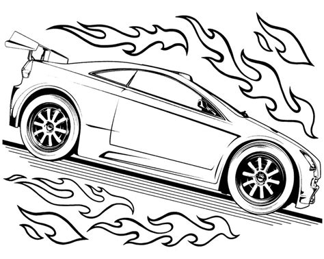 hot wheels coloring pages for kids az coloring pages