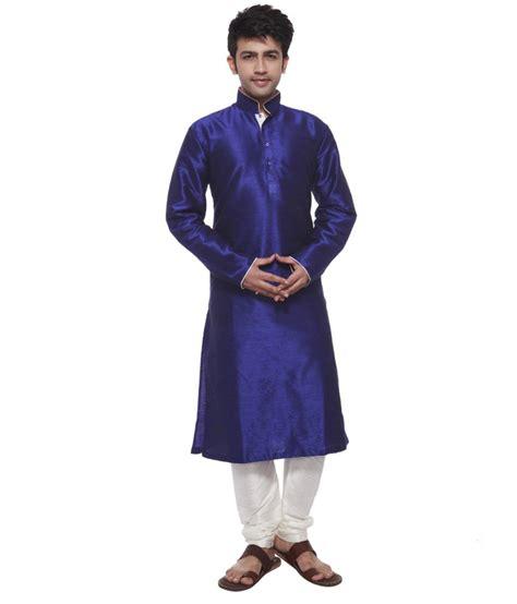Blue Amora amora designer wear kurta pyjama set blue buy amora