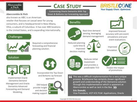 case study infographic enhances forecasting for an