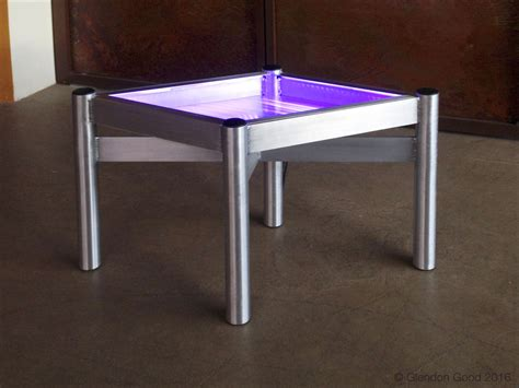 Lighted Table by Led Lighted Table Glendon