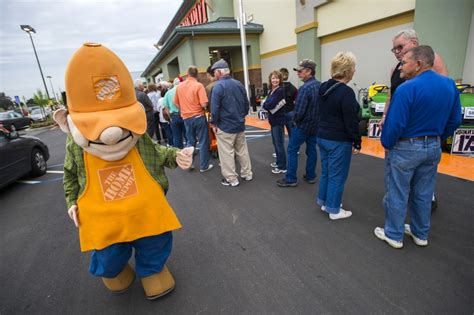 pin home depot homer mascot on