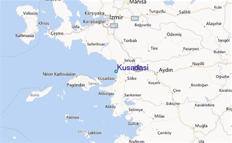 kusadasi city map kusadasi tide station location guide