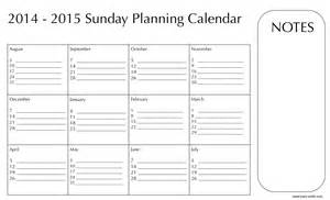 Labor Day Present for you! Downloadable Planning Calendars