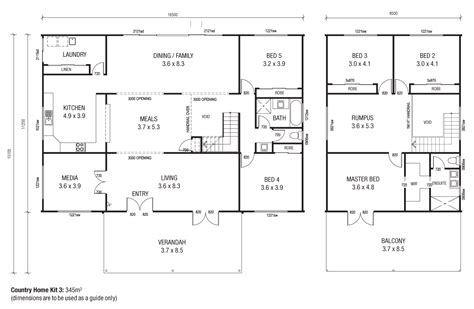 shed homes floor plans country homes 3 floor plans like the floor plan but could do with some tweaks to bottom floor