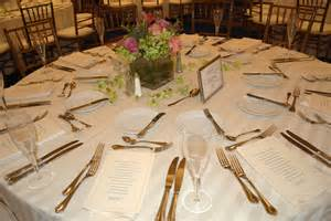 Table Set Up by Wedding Table Settings