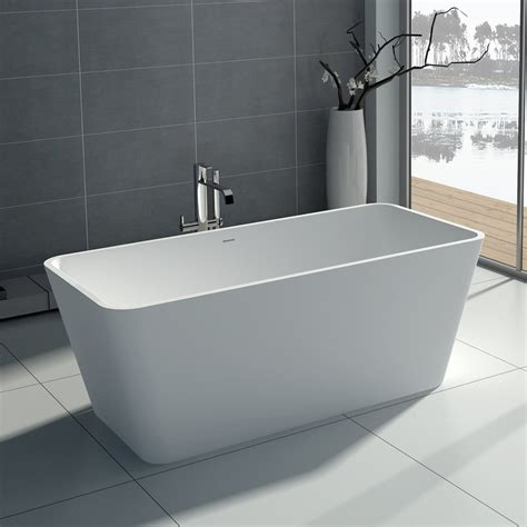 rectangular freestanding bath tub    adm bathroom design