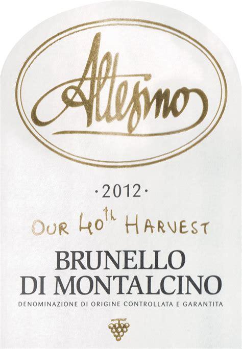 altesino brunello  montalcino wine library
