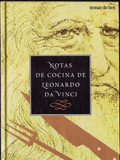 biography of leonardo da vinci pdf notas de cocina de leonardo da vinci