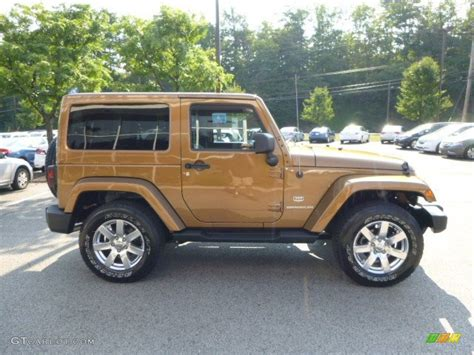 bronze jeep 2011 bronze jeep wrangler 70th anniversary 4x4