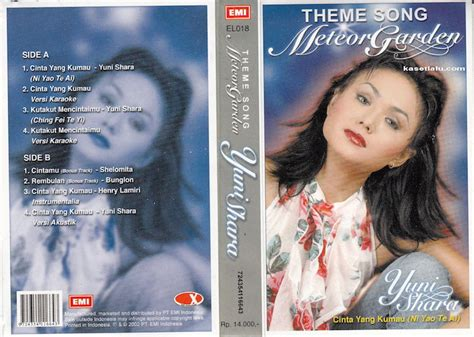 theme song meteor garden yuni shara theme song meteor garden kaset lalu