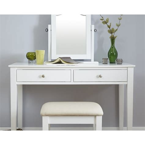 white dressing table white dressing table set