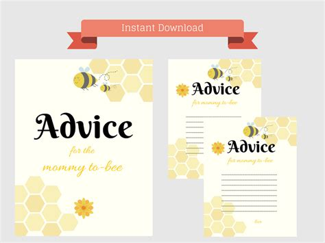Baby Shower For To Be by 8 Best Images Of Printable To Be Advice Baby
