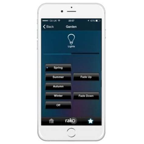 control lights with iphone rako lighting iphone application remote control ra
