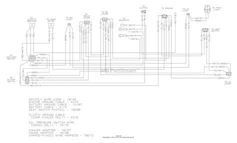 dixon grizzly   parts diagram  wiring