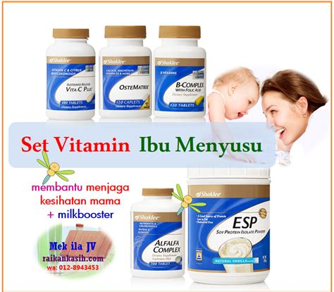 Vitamin Untuk Ibu Ketahui 6 Sebab Utama Merundum Milkbooster Bukan