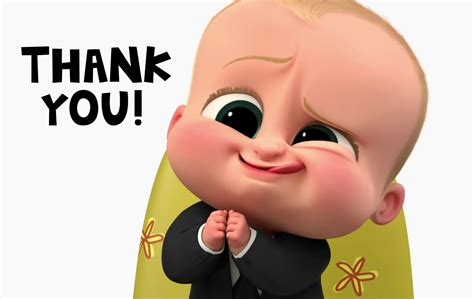 boss baby thank you cards baby party party printables